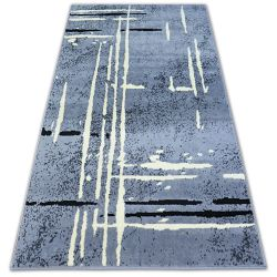 Carpet BCF BASE FUZZY 3909 LINES grey/black