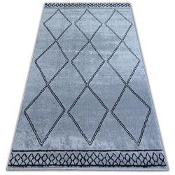 Tapis BCF BASE ETNO 3964 LOSANGES gris/noir
