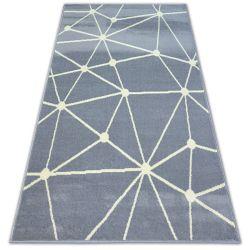 Килим BCF BASE GALAXY 3925 триъгълници сиво