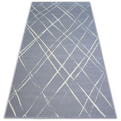 Koberec BCF BASE STROKES 3970 čtverce šedá