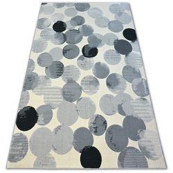Carpet SCANDI 18461/752 - CIRCLE CIRCLES cream grey black