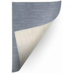 Carpet DOUBLE 29201/035 blue melange/melange beige double-sided