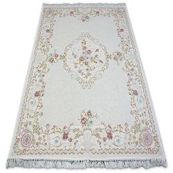Teppich ACRYL MIRADA 0140 Sahne ( Pembe ) Franse