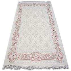 Teppich ACRYL MIRADA 5418 Rosa/Pudra Franse