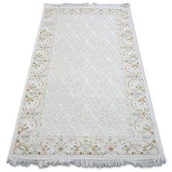 Carpet ACRYLIC MIRADA 0155 Cream ( Mavi ) Fringe