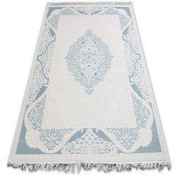 Carpet ACRYLIC MIRADA 5416 Blue ( Mavi ) Fringe