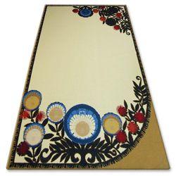 Carpet FOLK ZWYRT cream
