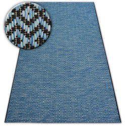 Teppich SISAL LOFT 21144 schwarz/silber/blau