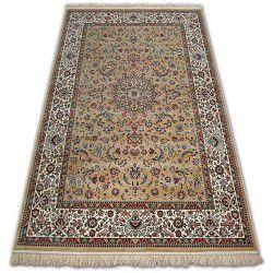 Teppich WINDSOR 22925 berber - Blumen JACQUARD