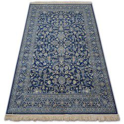 Carpet WINDSOR 22935 JACQUARD navy - Flowers