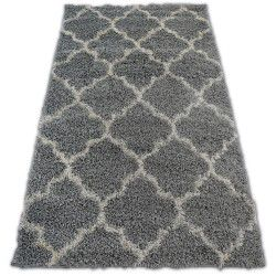 Carpet SHAGGY GALAXY TRELLIS - 8175 grey