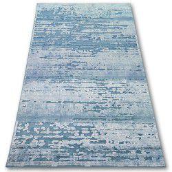 Akril yazz szőnyeg 3520 FELHŐK kék / krém