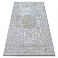 Carpet ACRYLIC VALENCIA 2328 ORNAMENT grey / mustard