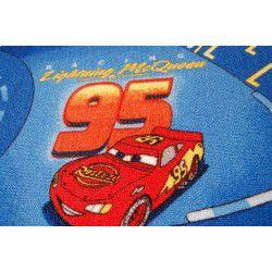 Moqueta DISNEY CARS azul