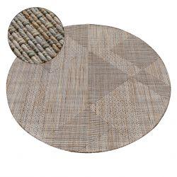 Koberec NATURE kruh SL110 béžový SIZAL BOHO