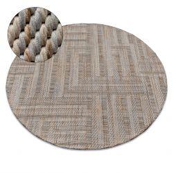 Nature szőnyeg kör SL150 bézs SIZAL boho