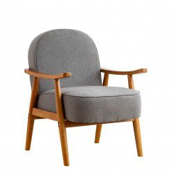 Armchair RETRO grey