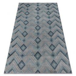 Tappeto SIERRA G5015 Spina di Pesce tessuto piatto blu