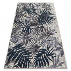 Carpet HEOS 78561 cream / blue JUNGLE
