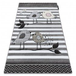 Carpet PETIT BIRDS grey