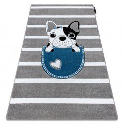 Carpet PETIT BULLDOG grey