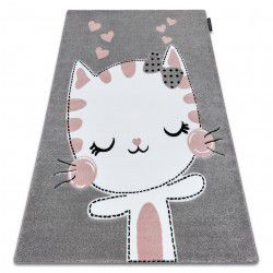 Carpet PETIT KITTY grey