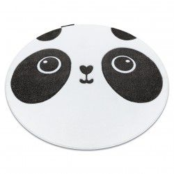 Teppich PETIT PANDA Kreis weiß