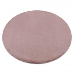 Килим BUNNY коло рожевий