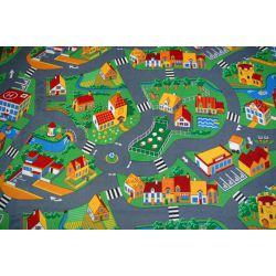 Tapis enfant LITTLE GOLIATH PETIT GOLIATH - velours