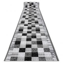 Bcf futó szőnyeg ANNA Squares 2954 szürke négyzetek
