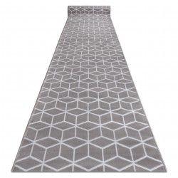 Runner BCF ANNA Cube 2959 grey hexagon