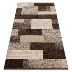 Tappeto FEEL 5756/15044 RECTANGOLI marrone