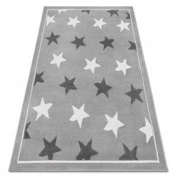 Carpet BCF ANNA Stars 3105 grey / d. grey