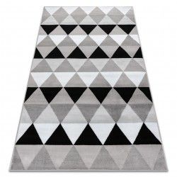 Carpet BCF ANNA Triangles 2965 Triangles grey
