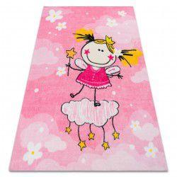 Килим PLAY принцеса дівчина G3629-2 рожевий