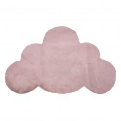 Tappeto NEW DOLLY nube G4387-8 rosa IMITAZIONE PELLICCIA DI CONIGLIO