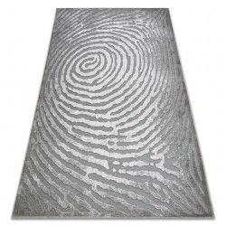 Tappeto ACRILICO YAZZ W8535 CEPPO grigio