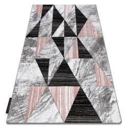 Tappeto ALTER Nano triangoli rosa