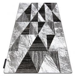 Ковер ALTER Nano трикутники сірий