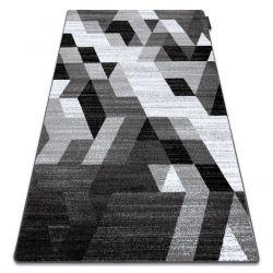 Килим INTERO TECHNIC 3D алмази трикутники сірий