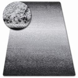 Kulatý koberec SHADOW 8621 bílý / černý