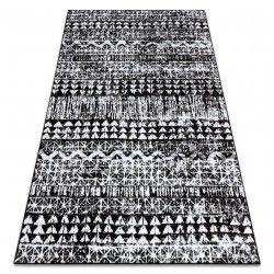 szőnyeg RETRO HE187 fekete / krém Vintage