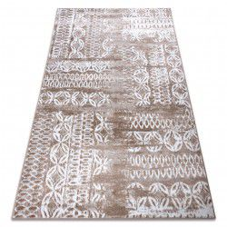 Carpet RETRO HE191 beige / white Vintage