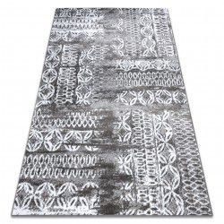 Carpet RETRO HE191 grey / cream Vintage