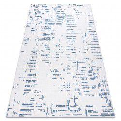 Dywan AKRYL DIZAYN 8840 kość słoniowa / niebieski