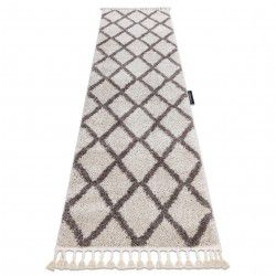 Carpet, Runner BERBER TROIK cream - for the kitchen, corridor & hallway