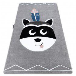 Carpet PETIT RACCOON MUKKI grey