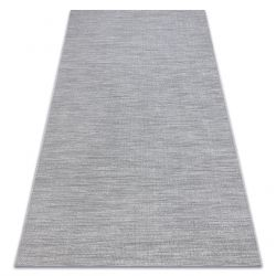 Carpet SISAL FORT 36203053 grey uniform smooth one-color