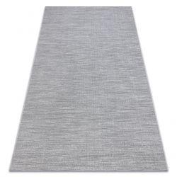 Tapis SIZAL FORT 36203053 gris uniforme lisse une couleur