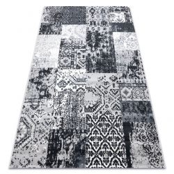 Dywan Vintage 22216356 szary patchwork